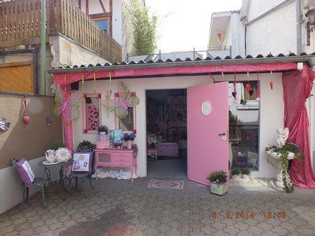 Floristikwerkstatt Funkert Lädchen Eingangsbereich